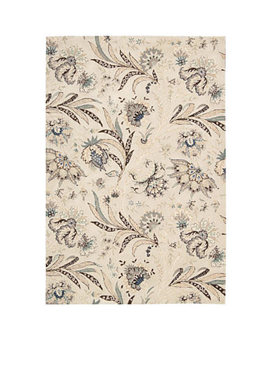 Nourison Gatsby Ivory Area Rug - Online Only