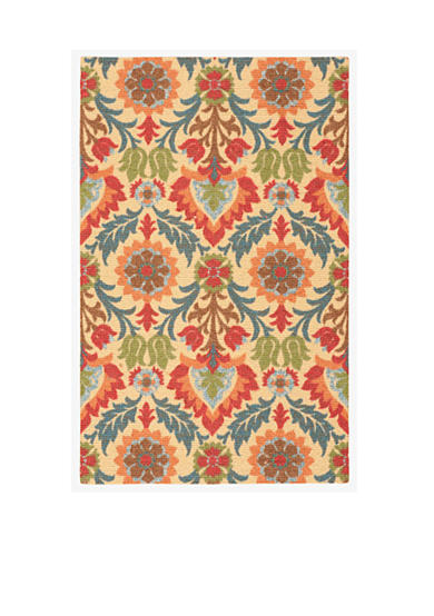 Waverly® Global Awakening Santa Maria Spice Area Rugs