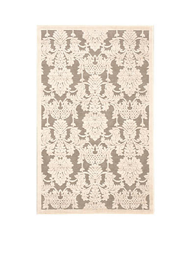 Nourison Graphic Illusions Nickle Area Rug - Online Only