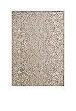 "Hollywood Shim Paradise Cover Light Grey Area Rug 5'9"" x 3'9"""