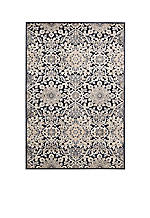 "Bel Air Marseille Charcoal Area Rug 7'9"" x 9'9"""