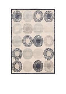 Kathy Ireland by Nourison KI03 BEL AIR IVORY 4X6