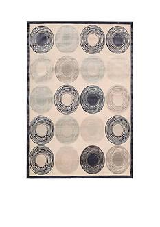 Kathy Ireland by Nourison KI03 BEL AIR IVORY 8X10