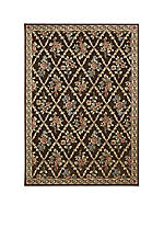 "Villa Retreat Washington Estate Chocolate Area Rug 2'3"" x 8'"