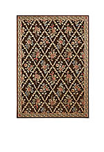 "Villa Retreat Washington Estate Chocolate Area Rug 3'6"" x 5'6"""