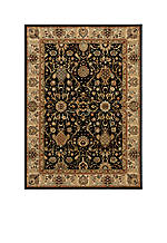 "Lumiere Stateroom Onyx Area Rug 3'6"" x 5'6"""