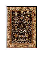 "Lumiere Stateroom Onyx Area Rug 5'3"" x 7'5"""