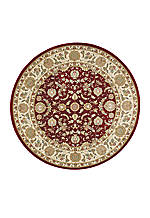 "Antiquities Garnet Area Rug 7'10"" Round"