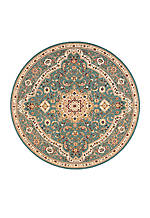 Antiquities Slate Blue Area Rug 710 Round