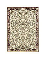 "Antiquities Ivory Area Rug 5'3"" x 7'4"""