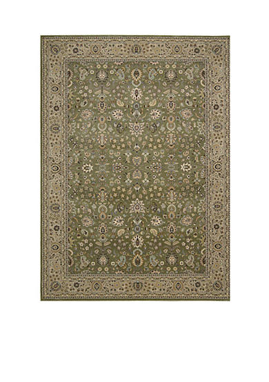 Kathy Ireland Antiquities Sage Area Rug - Online Only