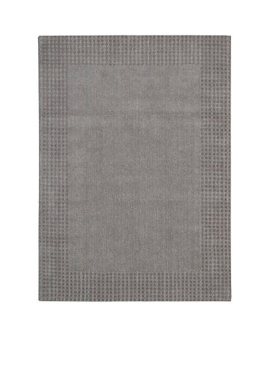 Kathy Ireland Cottage Grove Steel Area Rug - Online Only