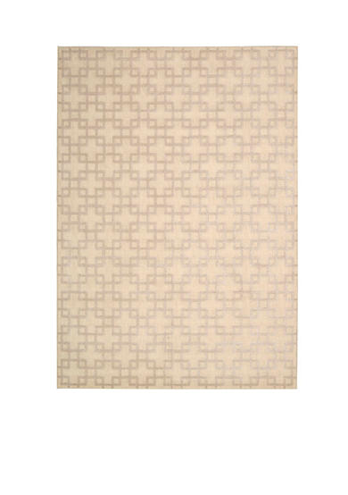 Kathy Ireland Hollywood Shim Times Square Bisque Area Rug - Online Only