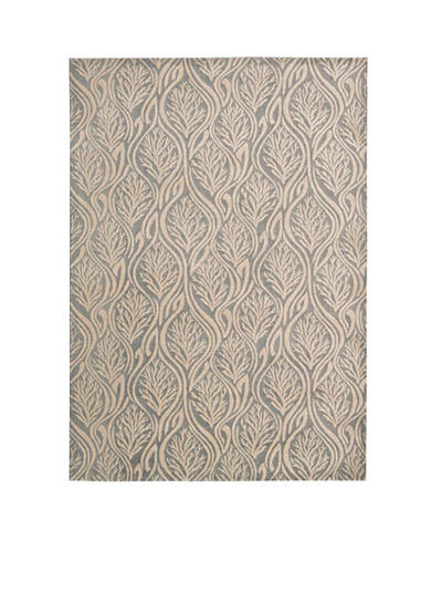 Kathy Ireland Hollywood Shim Paradise Cove Light Grey Area Rug
