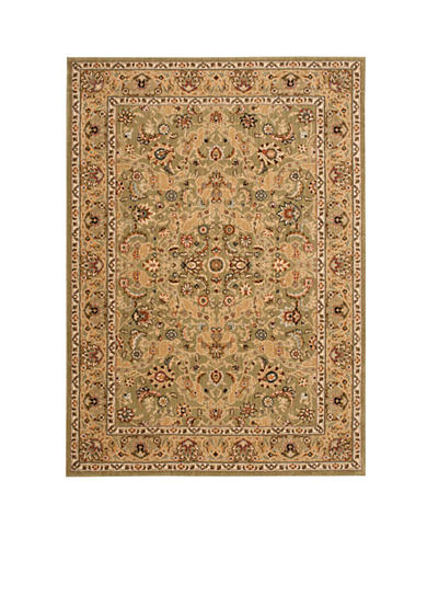 Kathy Ireland Lumiere Royal Countryside Sage Area Rug - Online Only