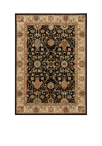 Kathy Ireland Lumiere Stateroom Onyx Area Rug - Online Only