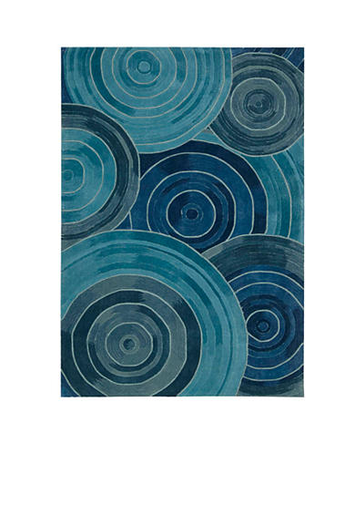 Kathy Ireland Palisades Ovation Denim Area Rug