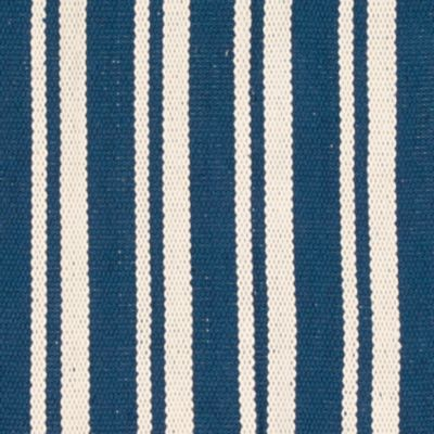 Nourison More For The Home: Navy Nourison Mesa Stripe Accent Rug - Online Only