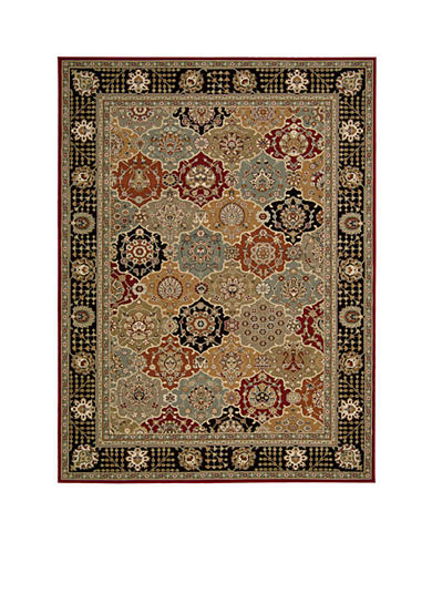 Nourison Persian Crown Black Area Rug