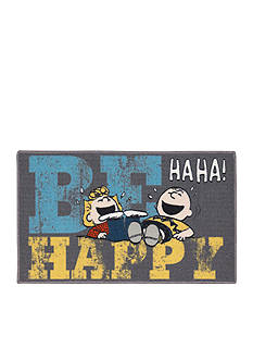 Nourison Peanuts Be Happy Rug