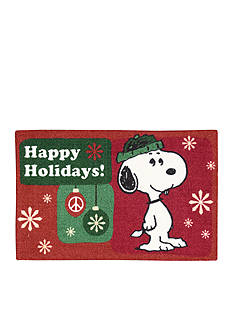 Nourison Snoopy Happy Holidays Rug