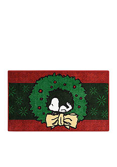 Nourison Peanuts Holiday Snoopy Accent Rug