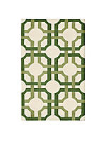 Artisanal Delight Groovy Grille Leaf Area Rug 5' x 7'