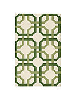 Artisanal Delight Groovy Grille Leaf Area Rug 8' x 10'