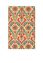 Global Awakening Santa Maria Spice Area Rug 4' x 6'