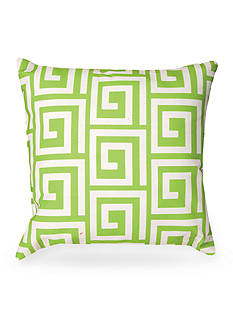 Manual Woodworkers Greek Key Decorative Pillows