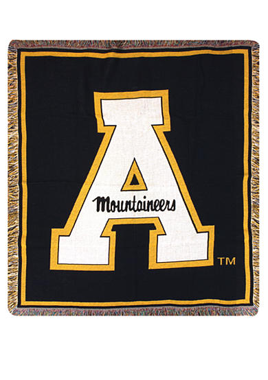 Manual Woodworkers Appalachian State Mountaineers Tapestry Throw