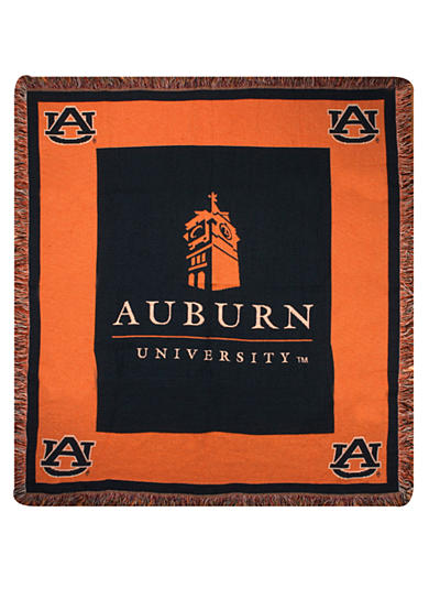 Manual Woodworkers Auburn Tigers Tapestry Throw