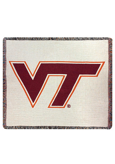 Manual Woodworkers Virginia Tech Hokies Tapestry Throw