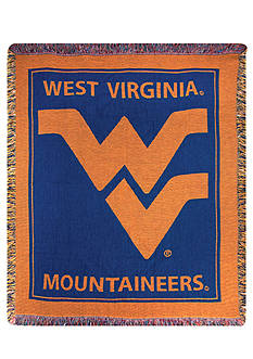 Manual Woodworkers West Virginia Mountaineers Tapestry Throw