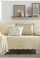 Stone Cottage Trellis Ivory Daybed Set