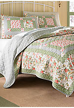 Abbot Multicolored Twin Quilt 88-in. x 68-in.