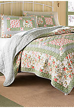 Abbot Multicolored Full/Queen Quilt 90-in. x 90-in.