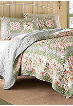 Abbot Multicolored King Quilt 96-in. x 104-in.