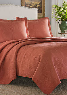 Stone Cottage Arbor King Quilt/Sham Set in Cayenne