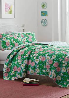 Poppy & Fritz® Poppy & Fritz Poppy Garden Full/Queen Quilt & Sham Set