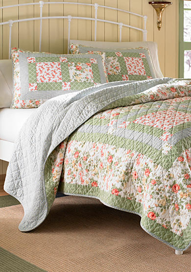 Laura Ashley Abbot Quilt Collection - Online Only