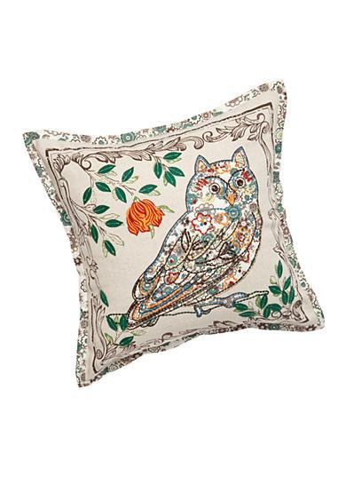 Newport Down Throw Pillows : Newport Mister Owl Decorative Pillow Belk