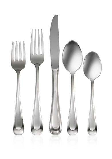 Oneida Satin Sand Dune 45-Piece Flatware Set