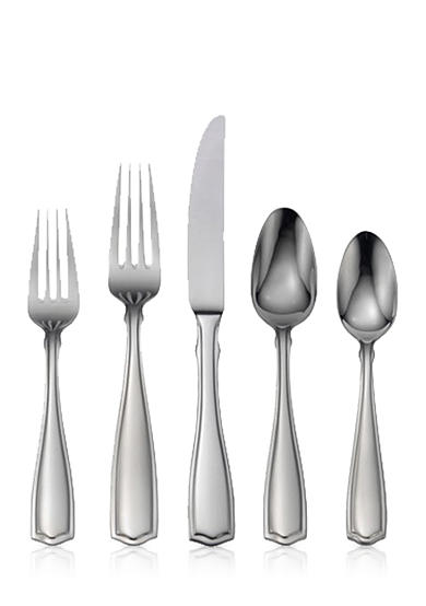 Oneida Carolina 65-Piece Flatware Set