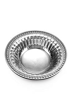 Wilton Armetale Flutes and Pearls Snack Bowl