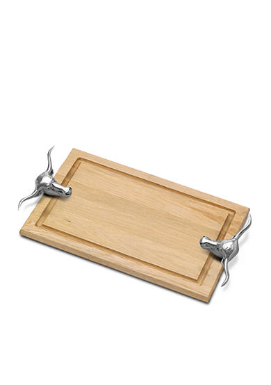 Wilton Armetale Steer Carving Board - Online Only