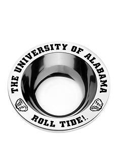 Wilton Armetale Alabama Crimson Tide Medium Round Bowl
