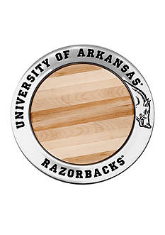 Wilton Armetale Arkansas Razorbacks Cheeseboard
