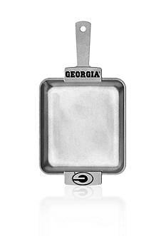 Wilton Armetale Georgia Bulldogs Grillware Square Sizzle Platter
