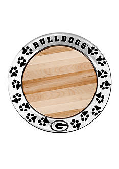 Wilton Armetale Georgia Bulldogs Small Cheeseboard